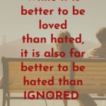 quotes about being ignored by someone you love